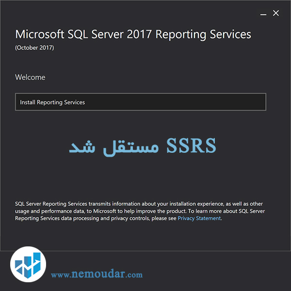 ٌٍٍمایکروسافت SQL Server Reporting Services