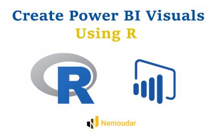 طراحی ویژوال های Power BI با استفاده از R