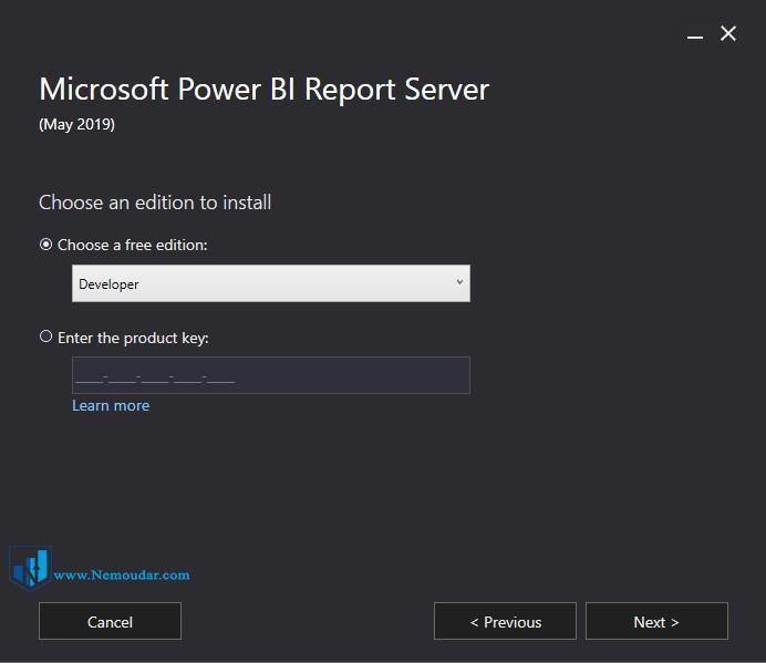 Power BI report server مراحل نصب