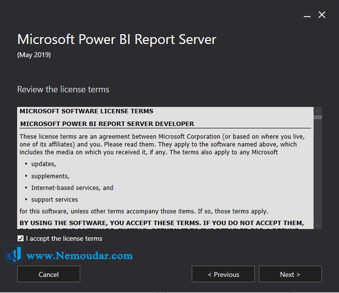 چگونه Power BI report server را نصب کنیم
