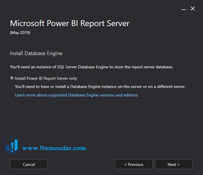 Power BI report server نصب