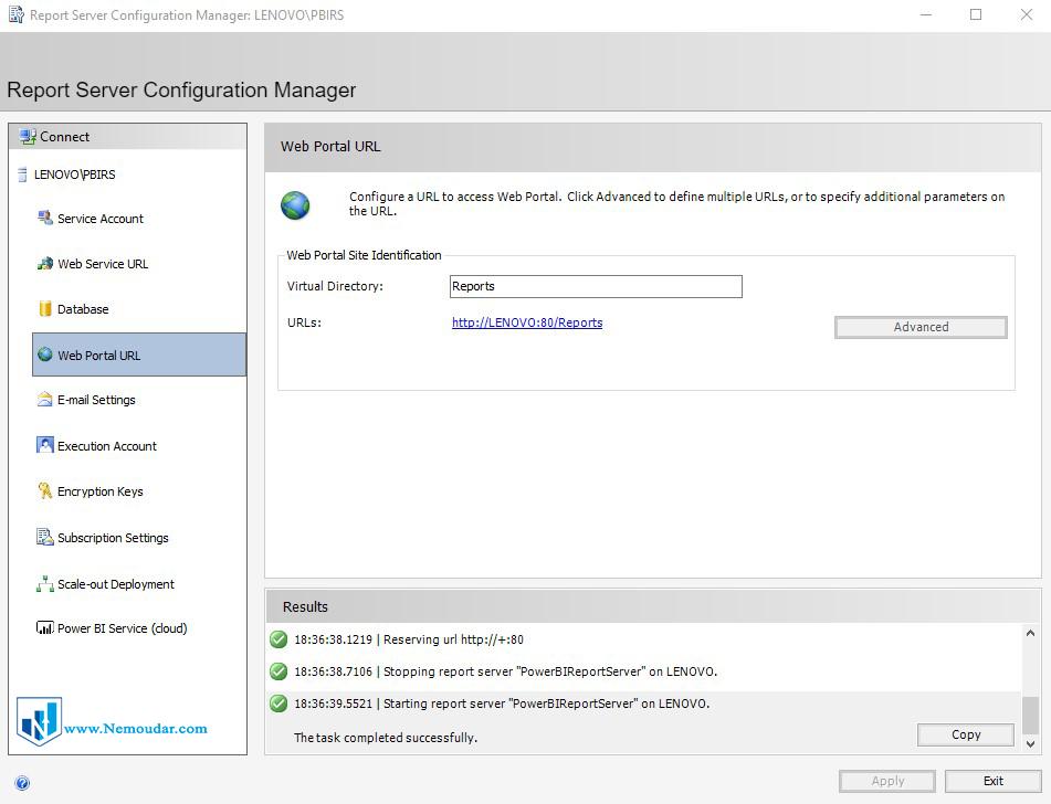 Power BI report server Installation