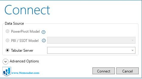 اتصال DAX Studio به Power BI
