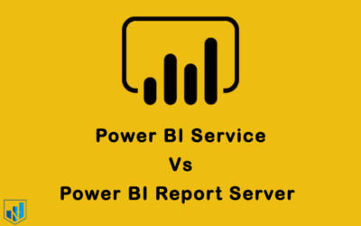 مقایسه power bi service و power bi report server
