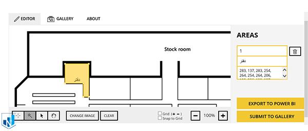 تنظیمات کاستوم ویژوال synoptic panel