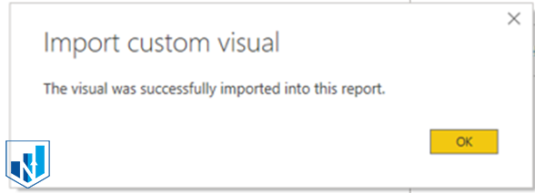import custom visual to power bi