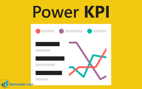 کاستوم ویژوال Power KPI
