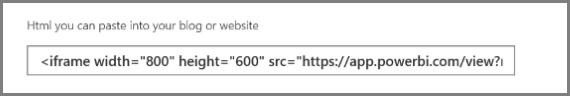 نمونه کد برای نمایش داشبورد تحت وب