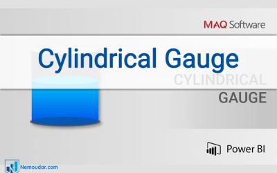 Cylindrical Gauge | Power BI Custom visual