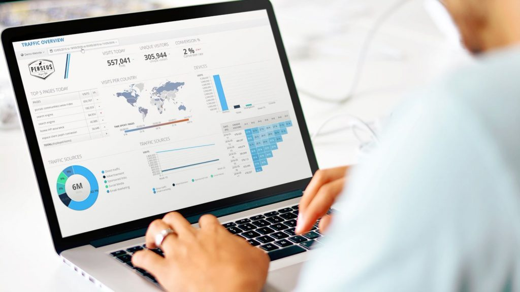 راهکار تحلیلی نمودار مبتنی بر هوش کسب و کار