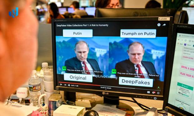 جعل تصویر پوتین با تکنولوژی دیپ فیک و هوش مصنوعی deepfake
